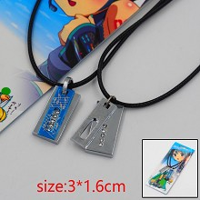 Hatsune Miku anime lovers necklaces a set
