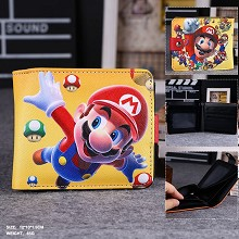 Super Mario anime wallet
