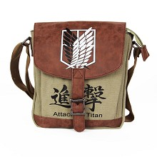 Attack on Titan anime satchel shoulder bag
