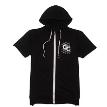 Guilty Crown anime cotton short sleeve hoodie