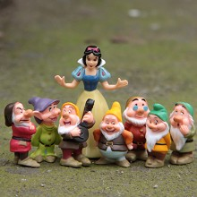 Snow White and the seven dwarfs figures set(8pcs a set)