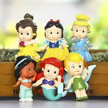 Tinker Bell figures set(6pcs a set)