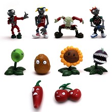 Plants vs.Zombies figures set(10pcs a set)