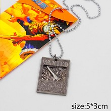 One Piece Nami wanted anime necklace