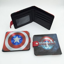 Captain America anime wallet