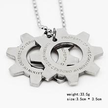War Machine necklace