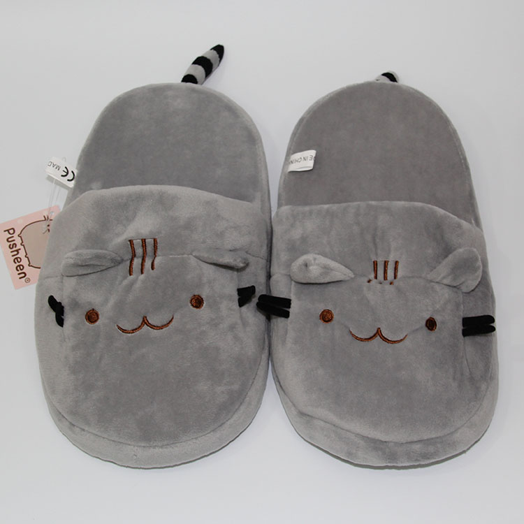 8858310aa78 Pusheen the cat plush slippers shoes a pair Other Cartoon Anime ...