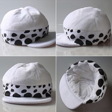 One Piece Law Cosplay plush hat