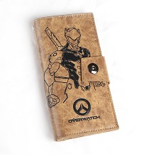 Overwatch pu long wallet