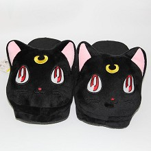 Sailor Moon anime plush slippers shoes a pair