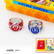 Warcraft rings set(2pcs a set)