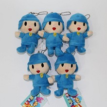 3.2inches Pocoyo anime plush dolls set(10pcs a set)