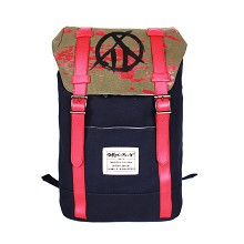 Ninelie anime backpack bag