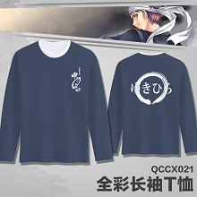 Shokugeki no Soma anime long sleeve thin t-shirt