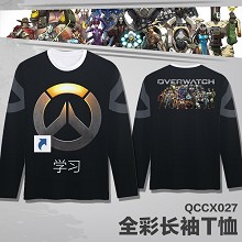 Overwatch long sleeve thin t-shirt