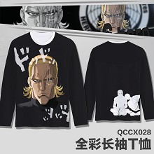 One Punch Man anime long sleeve thin t-shirt
