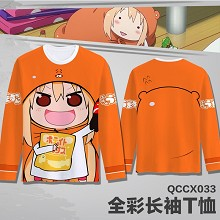 Himouto! Umaru-chan anime long sleeve thin t-shirt