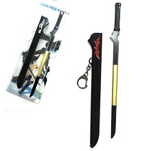 Black rock shooter anime weapon key chain 220mm