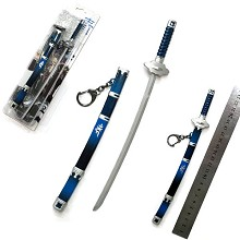 Ao no Exorcist anime weapon key chain 220mm