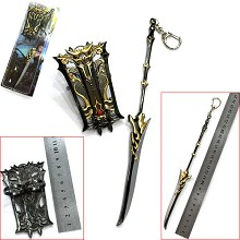 JIANXIAQINGYUAN cos weapon key chain