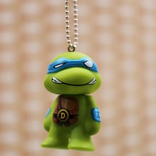 Teenage Mutant Ninja Turtles anime key chain 80mm