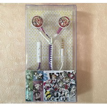 LOVELIVE anime headphone