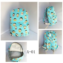 Chi-bi Maruko anime backpack bag