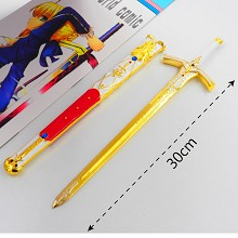 Fate cos weapon key chain