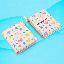 Lovelive anime wallet