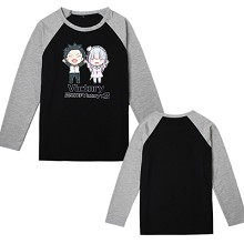 Re:Life in a different world from zero Emilia long sleeve cotton t-shirt