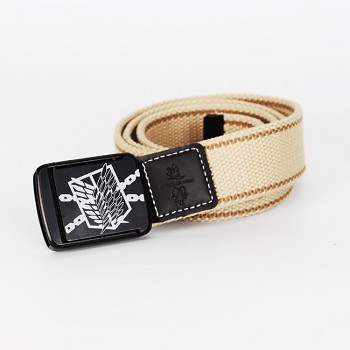 Attack on Titan anime belt