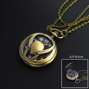 Thor necklace pocket watch
