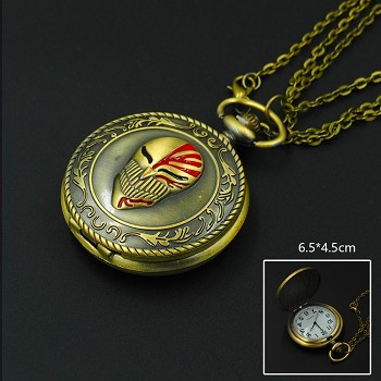 Bleach necklace pocket watch