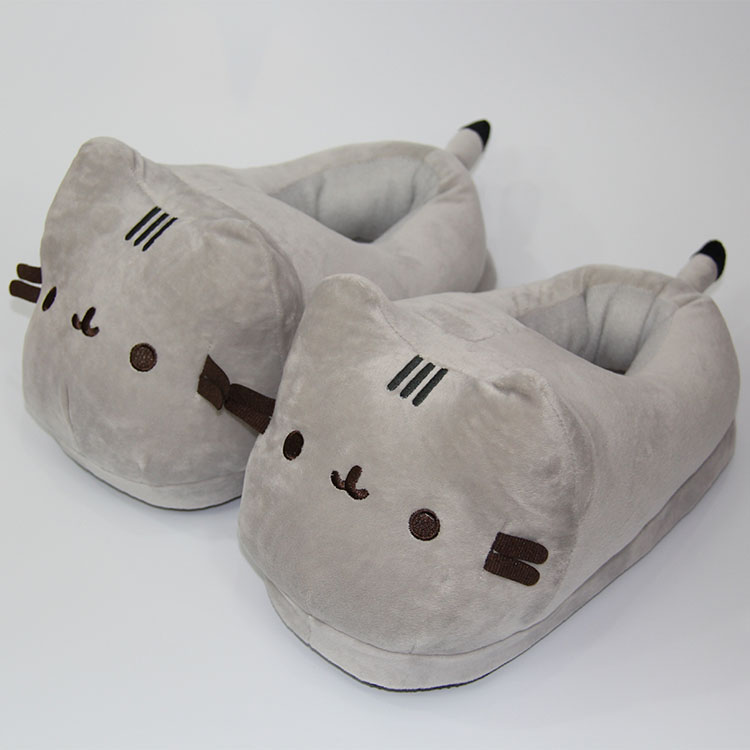 9a467edcf80 Pusheen the Cat anime plush shoes slippers a pair(small) Other ...