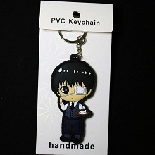 Tokyo ghoul anime two-sided key chain
