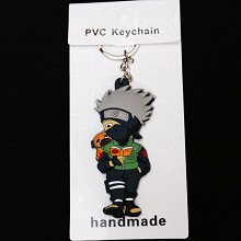 Naruto Kakashi anime two-sided key chain