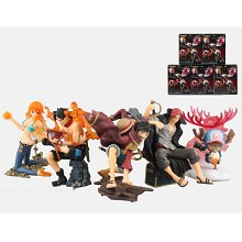 One Piece anime figures set(5pcs a set)