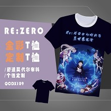 Re:Life in a different world from zero Rem t-shirt
