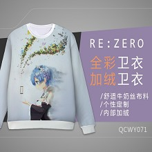 Re:Life in a different world from zero Rem long sleeve hoodie