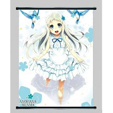 Anohana anime wall scroll