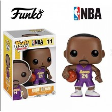 NBA star Kobe Bryant figure