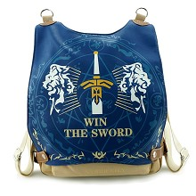 Fate stay night anime backpack bag