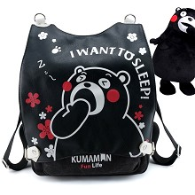 Kumamon anime backpack bag
