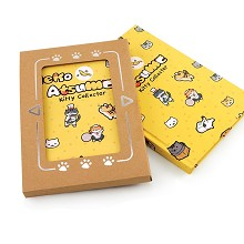 Neko Atsume anime hard cover notebook