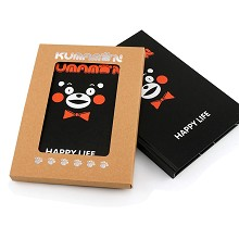 Kumamon anime hard cover notebook