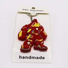 Iron Man two-sided key chain