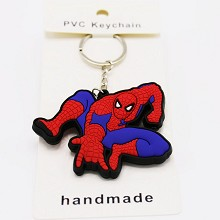 Spider-Man two-sided key chain