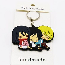 Attack on Titan anime two-sided key chain
