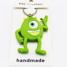 Monsters University two-sided key chain