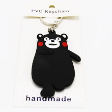 Kumamon two-sided key chain